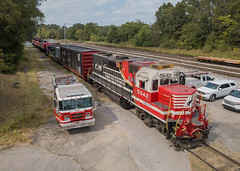NS 5642 (GP38-2) NS Safety Train  Corinth, Mississippi (terry.redeker) Tags: corinth mississippi unitedstatesofamerica