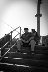 Fisherman (Livesurfcams) Tags: bigboy fuji fujifilm devon ilfracombe fisherman harbour