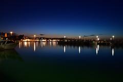calma piatta (luporosso) Tags: natura nature naturaleza naturalmente nikon nikond500 crepuscolo blu bluhour orablu blue luci light notte nightshot nightscape porto port civitanovamarche marche italia italy