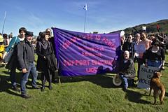 Photo of UCU Edinburgh support the Global Climate Strike
