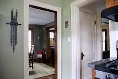 Calendar (oxfordblues84) Tags: kitchenrenovation kitchen renovation calendar doorframes door oven diningroom house home