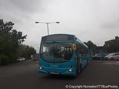 YJ57BRF 3730 Arriva Midlands West in Lichfield (Nuneaton777 Bus Photos) Tags: arriva midlands west wright pulsar yj57brf 3730 lichfield