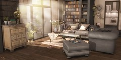 🏢 City Living (sushiforbreakfastResident) Tags: sl secondlife second life home homedecor city living appartment fapple nutmeg