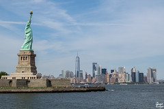 The Old Girl (MrStuy) Tags: newyork statueofliberty ladyliberty libertyisland statue monument city skyline