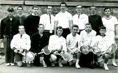 1963 (BC High Archives) Tags: tennis 1963 1960s keanefr mclaughlin fatersik garvey walsh amrheim meade doherty finn west cotter ward sullivan muse