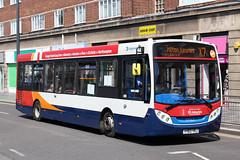 Alexander-Dennis Enviro200 (DennisDartSLF) Tags: leicester bus alexanderdennis enviro200 enviro 37063 stagecoach unitedcounties yy63yrj