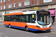 VDL SB200 Wright Pulsar (DennisDartSLF) Tags: leicester bus vdl sb200 wright pulsar 758 centrebus kb10bus