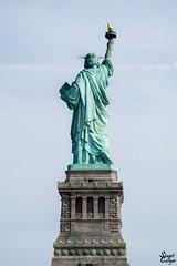 From The Rear (MrStuy) Tags: newyork statueofliberty ladyliberty libertyisland statue monument