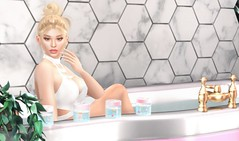 Patreon Exclusive (EnviouSLAY) Tags: bathroomscene bathroom bathtub scene secondlifefashion secondlifephotography blonde blond doux bathwater patreon parody nude naked belleza bento freya genus classic parfait makeup pinkfuel pink fuel eyeshadow gloss lipstick bodysuit spoiled newreleases new releases equal10 monthlyevent monthlyfashion monthlyfair monthly fashion fair event pale female male gay lgbt blogger secondlife photography