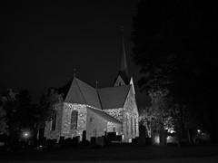 Church at night (Theberoys, Øystein) Tags: church night skedsmo panasonic panasonicg9 kirke norway norge g9 skedsmokirke
