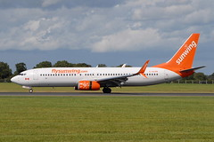 C-GLRN Boeing 737-800 Sunwing Airlines (eigjb) Tags: dublin airport eidw ireland collinstown international jet transport airliner aviation plane spotting aircraft airplane aeroplane boeing 737800 sunwing airlines cglrn b737 737 canadian