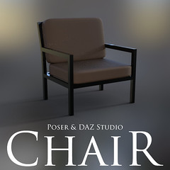 Chair (Adam Thwaites) Tags: chair dazstudio daz3d free furniture model modern poser prop scene