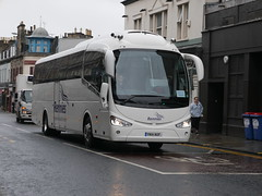 Stagecoach Irizar i6 Integral YN14NOF, R6, in Rennies livery, at Queensferry Street, Edinburgh, on 10 September 2019. (Robin Dickson 1) Tags: stagecoach busesedinburgh rennies irizari6integral yn14nof olympiatravelofhindley johnsonbrotherstoursofholdthorpe