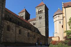 Quedlinburg, Stiftskirche St. Servatii und Schloss (julia_HalleFotoFan) Tags: quedlinburg harz sachsenanhalt weltkulturerbe stiftskirche stiftskirchestservatii romanik