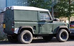 E974 PEG (Nivek.Old.Gold) Tags: 1988 land rover 90 turbo hardtop 2494cc diesel