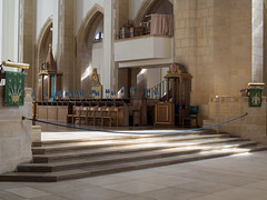 Guildford Cathedral-F9170326 (tony.rummery) Tags: building cathedral choir christian church congregation em5mkii faith gathering guildford interior mft microfourthirds omd olympus religious steps worship england unitedkingdom