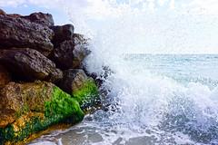 Black Sea (Dumby) Tags: landscape goldensands bulgaria seascape blacksea mareaneagră travel wave