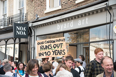 10 years until doomsday (Stray Toaster) Tags: cambridge climate strike kings college
