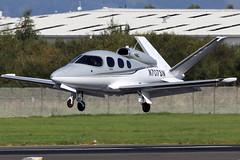 N707SN_01 (GH@BHD) Tags: n707sn cirrusdesign sf50 visionjet visionjetibc belfastcityairport aircraft aviation bizjet corporate bhd egac