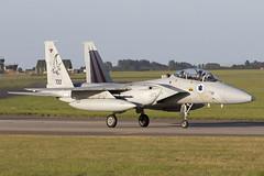 733_McDonnellDouglasF-15DBaz_IsraelIDF_EGXW_Img02 (Tony Osborne - Rotorfocus) Tags: mcdonnell douglas f15 f15d baz eagle israel israeli air force defence idfaf iaf raf waddington cobra warrior 2019
