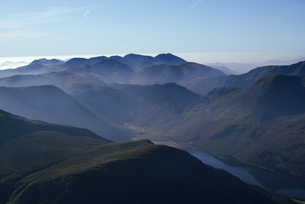 Buttermere, Haystacks and Skafell Pike
