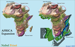 AFRICA EXPANSION (ARCANO NelsoN Gomes) Tags: arcano nelson gomes nobel prize africa expansion terra planeta drift continental deriva earth expanding