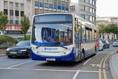 Stagecoach Midland Red South ADL Enviro 300 27683 KX60AZJ in Leicester (Mark Bowerbank) Tags: stagecoach midland red south adl enviro 300 27683 kx60azj leicester