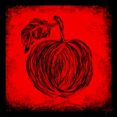 """"""" Frutaria """" (jlynfriend) Tags: phonephoto lg sketched drawn art color design artistic apple smileonsaturday frutaria"""