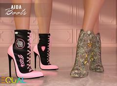 EQUAL - Aida Boots (EQUAL SL) Tags: secondlife equal saturday sale shoes boots belleza slink maitreya signature alice legacy