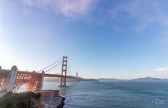 Golden Gate (aliabdullah.176) Tags: sanfransisco landscape goldengate bridge water bay blue travel wideangle canon t3i