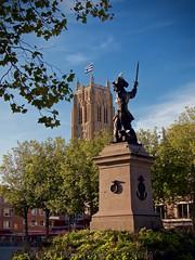 Statue de Jean Bart à Dunkerque (pierre.pruvot2) Tags: dunkerque panasoniclumixg9 hautsdefrance statue corsaire nord