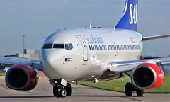 SE-RER (AnDyMHoLdEn) Tags: scandinavian sas 737 staralliance egcc airport manchester manchesterairport 23l