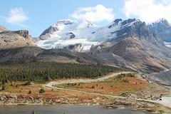 Mount Athabasca, next to the Athabasca glacier (rutteri) Tags: mountains mountain mountathabasca athabasca glacier columbiaicefield alberta jaspernationalpark banffnationalpark jasper banff canada landscape dramatic