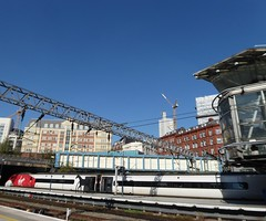 The Rising Core of 103 Colmore Row. (metrogogo) Tags: virgintrains birmingham rails