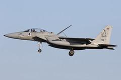 733_McDonnellDouglasF-15DBaz_IsraelIDF_EGXW_Img03 (Tony Osborne - Rotorfocus) Tags: mcdonnell douglas f15 f15d baz eagle israel israeli air force defence idfaf iaf raf waddington cobra warrior 2019