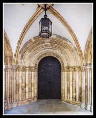 West Door (veggiesosage) Tags: templechurch historicchurch church london pentaxks2 normanchurch knightstemplar doorway sigma1020mmf456exdc