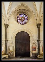 West Door Inside (veggiesosage) Tags: church templechurch historicchurch london knightstemplar normanchurch pentaxks2 sigma1020mmf456exdc doorway