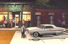 Papercraft (official inspection station) Tags: chrysler chevrolet corvair impala newport goodfellas moviecar papercraft papercar papertoy