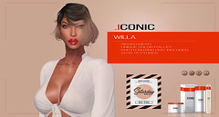 ICONIC_WILLA_BANNER_FLsat (Neveah Niu /The ICONIC Owner) Tags: sale saturday secondlife hair willa 3dmesh blender zbrush