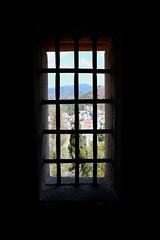Window Bars (Piedmont Fossil) Tags: malaga spain mount gibralfaro castle fort fortress window bars