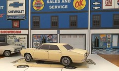 Papercraft  1965 Chevrolet Corvair four-door (official inspection station) Tags: chrysler chevrolet corvair impala newport goodfellas moviecar papercraft papercar papertoy