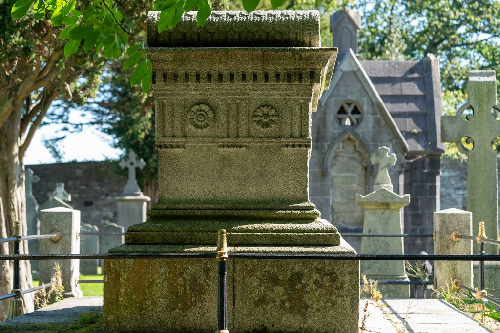 TODAY I VISITED GLASNEVIN CEMETERY [TODAY I USED A SONY 90MM MACRO LENS]-155993