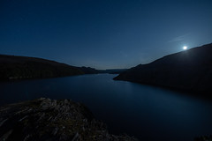 Moon rise in mid Wales (Thomas Winstone) Tags: wales unitedkingdom nature canon landscape outdoors countryside outdoor gitzo canonuk longexposure sky moon night stars star astro moonlit astroscape thomaswinstonephotography sigma14mmf18art