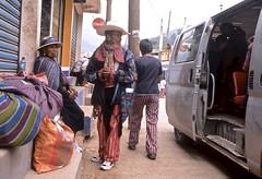Bus Stop on Market Day (vincenzooli) Tags: santos todos guatemala fujifilm provia nikon f6