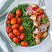 Chicken Bowl with Tomatoes and Kale