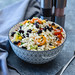 Rice Salad with Black Bean and Vegetables