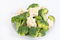 Cauliflower and Broccoli served on the plate (wuestenigel) Tags: vegetable eating group produce cabbage flower leaf kitchen broccoli isolated healthy color diet cauliflower fresh food nutrition ingredient bright health raw freshness object green nobody vegetarian salad white brokkoli blumenkohl noperson keineperson gesundheit ingredients zutaten kohl ernährung vitamin balanceddiet ausgewogeneernährung nature natur essen blatt gemüse cooking kochen delicious köstlich isolate isolieren parsley petersilie grow wachsen dinner abendessen farming landwirtschaft 2019 2020 2021 2022 2023 2024 2025 2026 2027