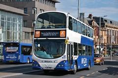 McGill's of Greenock LJ05 BNL (I6908) | Out Of Service | Gauze/High Street, Paisley (Strathclyder 2.0) Tags: mcgills daf vdl db250 wright pulsar gemini lj05bnl lj05 bnl i6908 paisley gauze high street renfrewshire scotland x23 johnstone arrivalondonsouth dw127 x23mgl