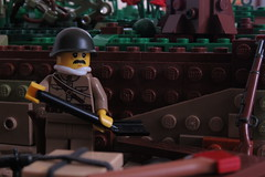 Burial | Nearing Berlin, 1945 (【Achillea】) Tags: wwii ww2 lego moc history build minifig custom citizen brick