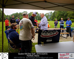 IMG_1155 (Maine Disc Golf) Tags: goats quakerhilldg fairfield maine golden oldies anhyzer tour series premier year 2019 quaker hill disc golf